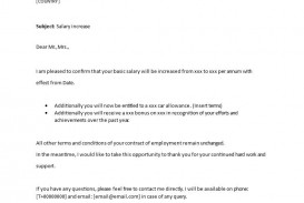 001 Wonderful Salary Increase Letter Template High Resolution  From Employer To Employee Australia No For