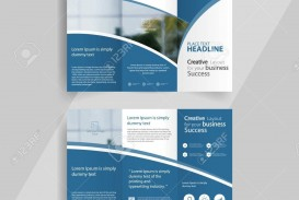 001 Wondrou 3 Fold Brochure Template High Def  For Free