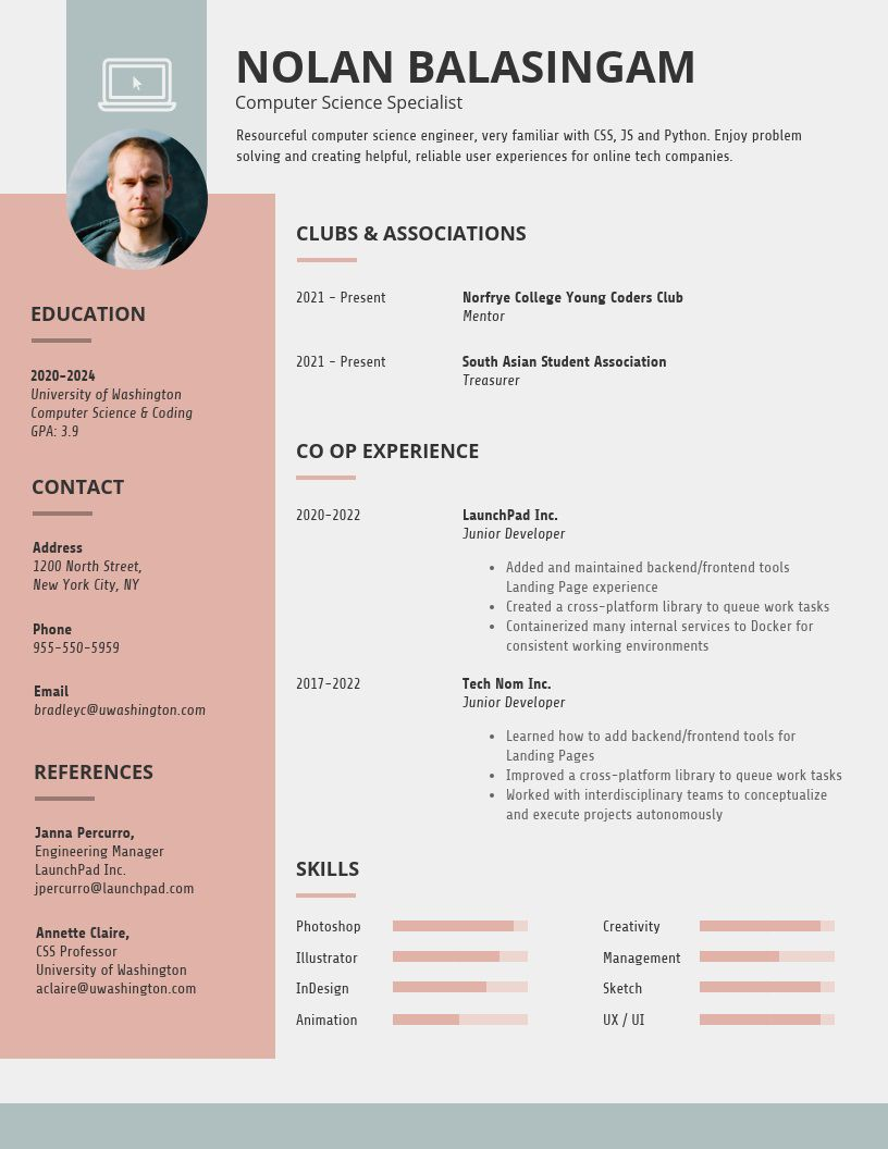 001 Wondrou Basic Student Resume Template High Def  Templates School Google DocFull