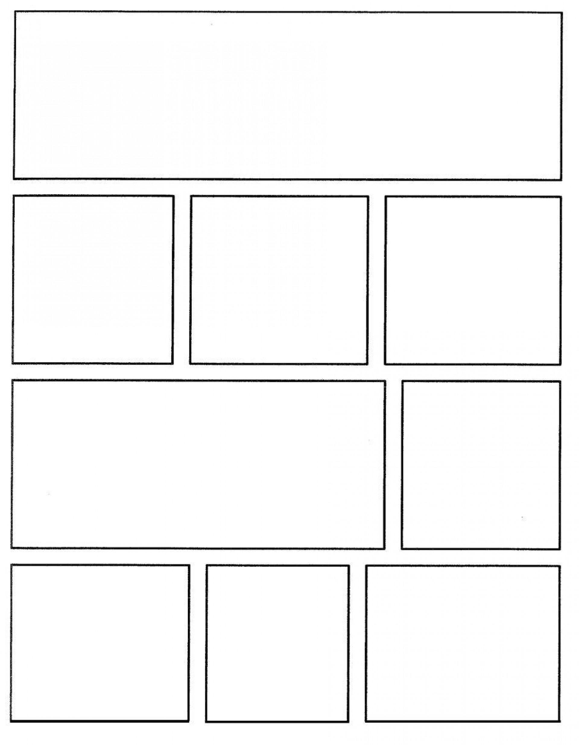 001 Wondrou Comic Strip Layout For Word Highest Quality  Book Script Template Microsoft Doc1920