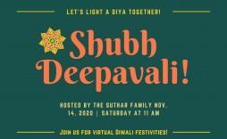 001 Wondrou Diwali Party Invite Template Free High Def