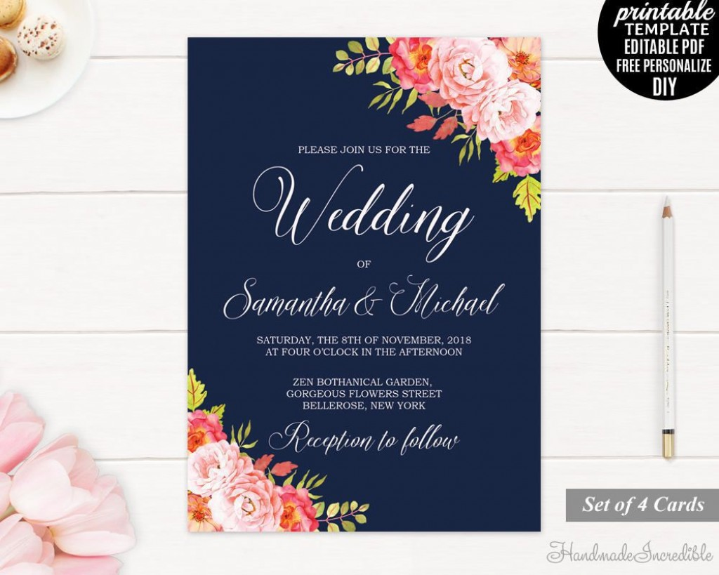 001 Wondrou Editable Wedding Invitation Template Inspiration  Templates Tamil Card Free Download Psd OnlineLarge