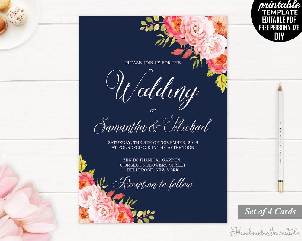 001 Wondrou Editable Wedding Invitation Template Inspiration  Templates Tamil Card Free Download Psd OnlineFull