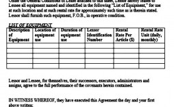 001 Wondrou Equipment Rental Agreement Template Example  Canada Free South Africa Pdf