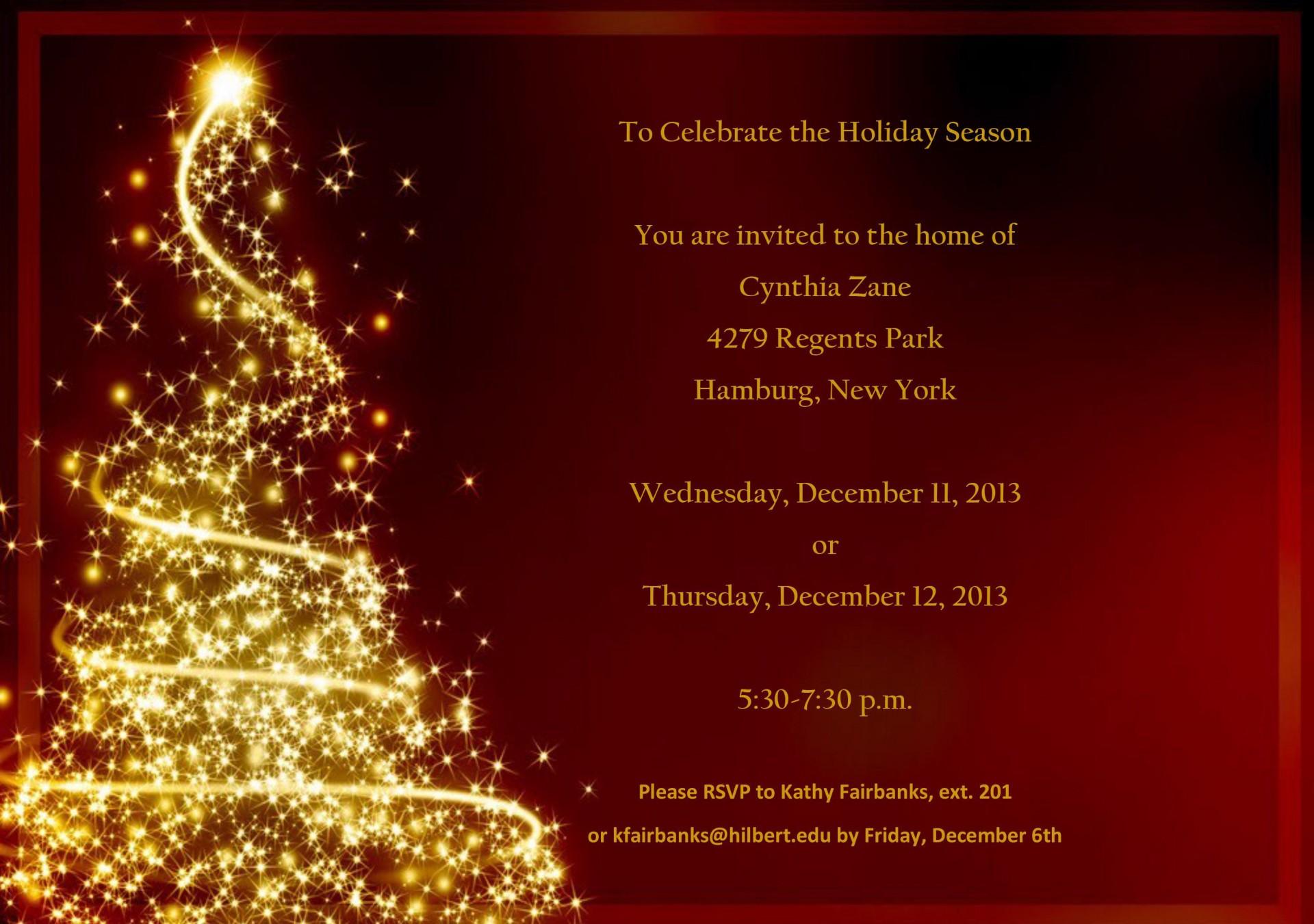 001 Wondrou Free Christma Invitation Template Word High Resolution  Holiday Party Editable1920