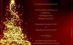 001 Wondrou Free Christma Invitation Template Word High Resolution  Holiday Party Editable