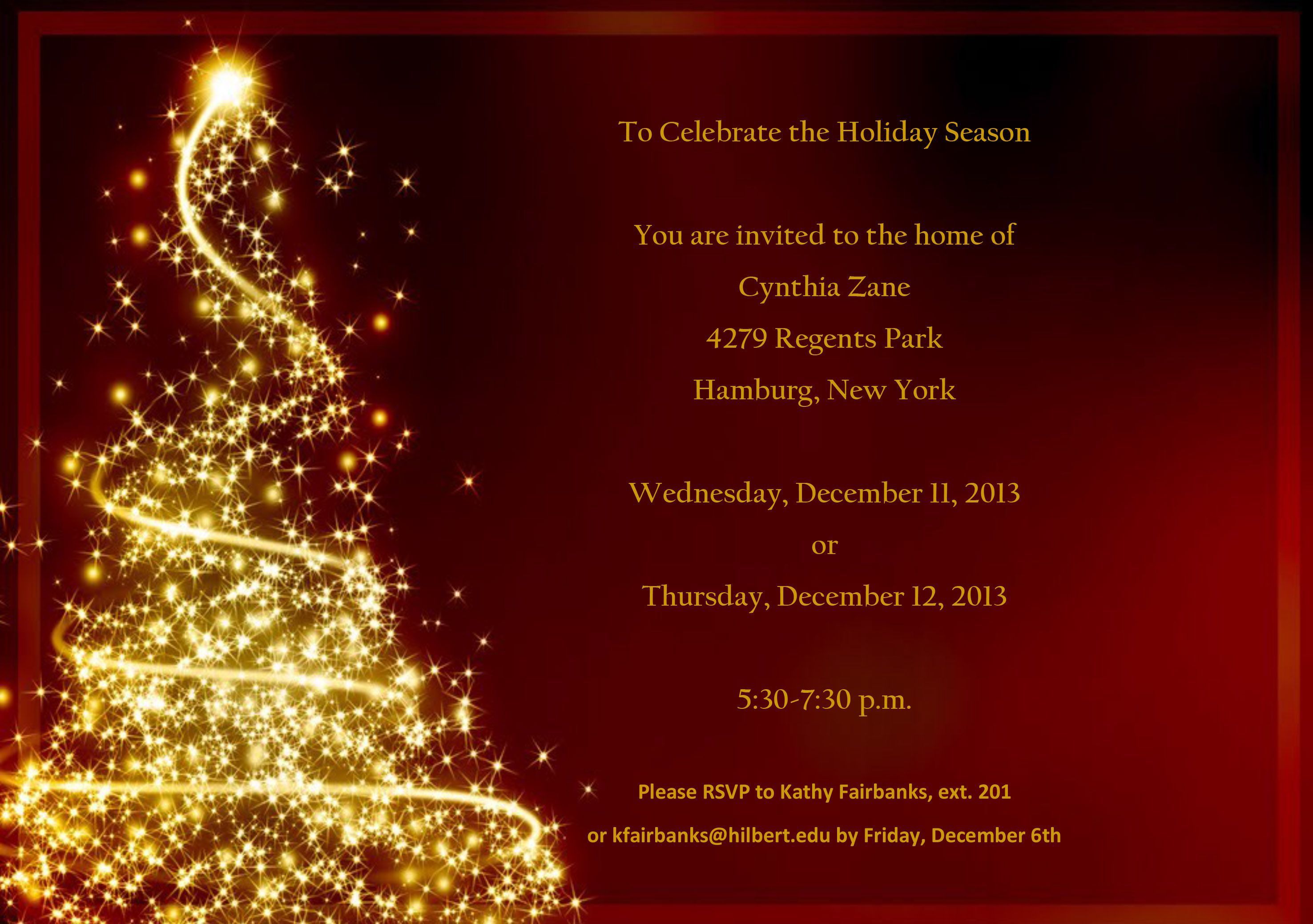 001 Wondrou Free Christma Invitation Template Word High Resolution  Holiday Party EditableFull