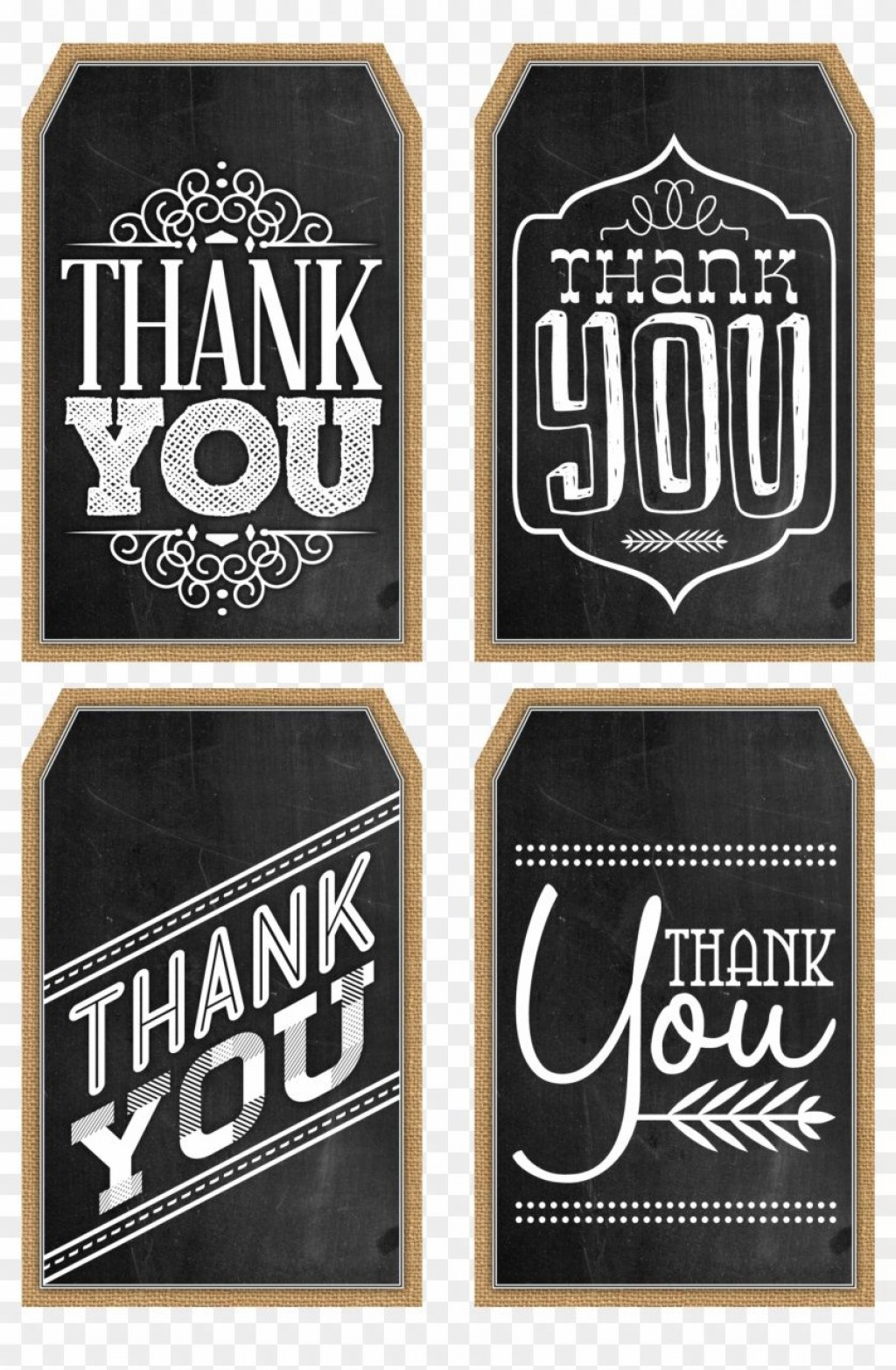 001 Wondrou Free Printable Thank You Gift Tag Template Idea  TemplatesLarge