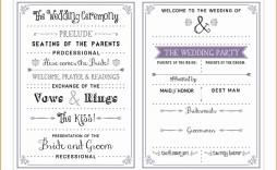 001 Wondrou Free Word Template For Wedding Program High Def  Programs