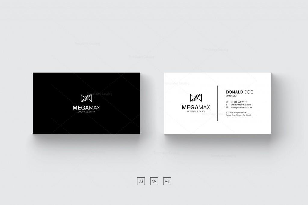 001 Wondrou Minimal Busines Card Template Psd Inspiration  Simple Visiting Design In Photoshop File Free DownloadLarge