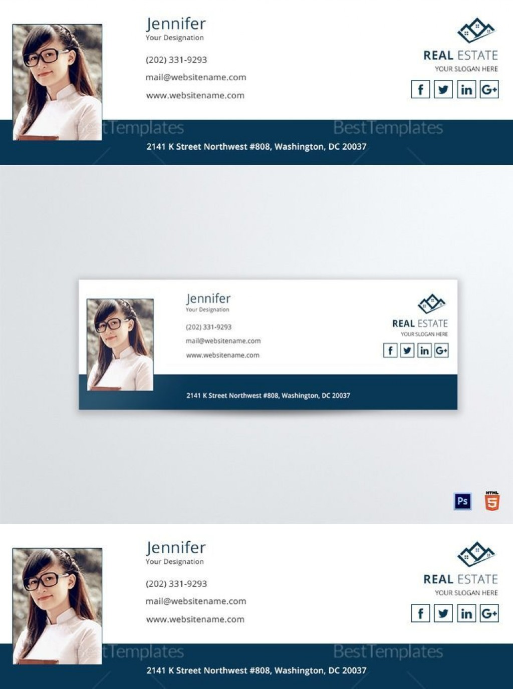 001 Wondrou Outlook Email Signature Template Example Inspiration  ExamplesLarge