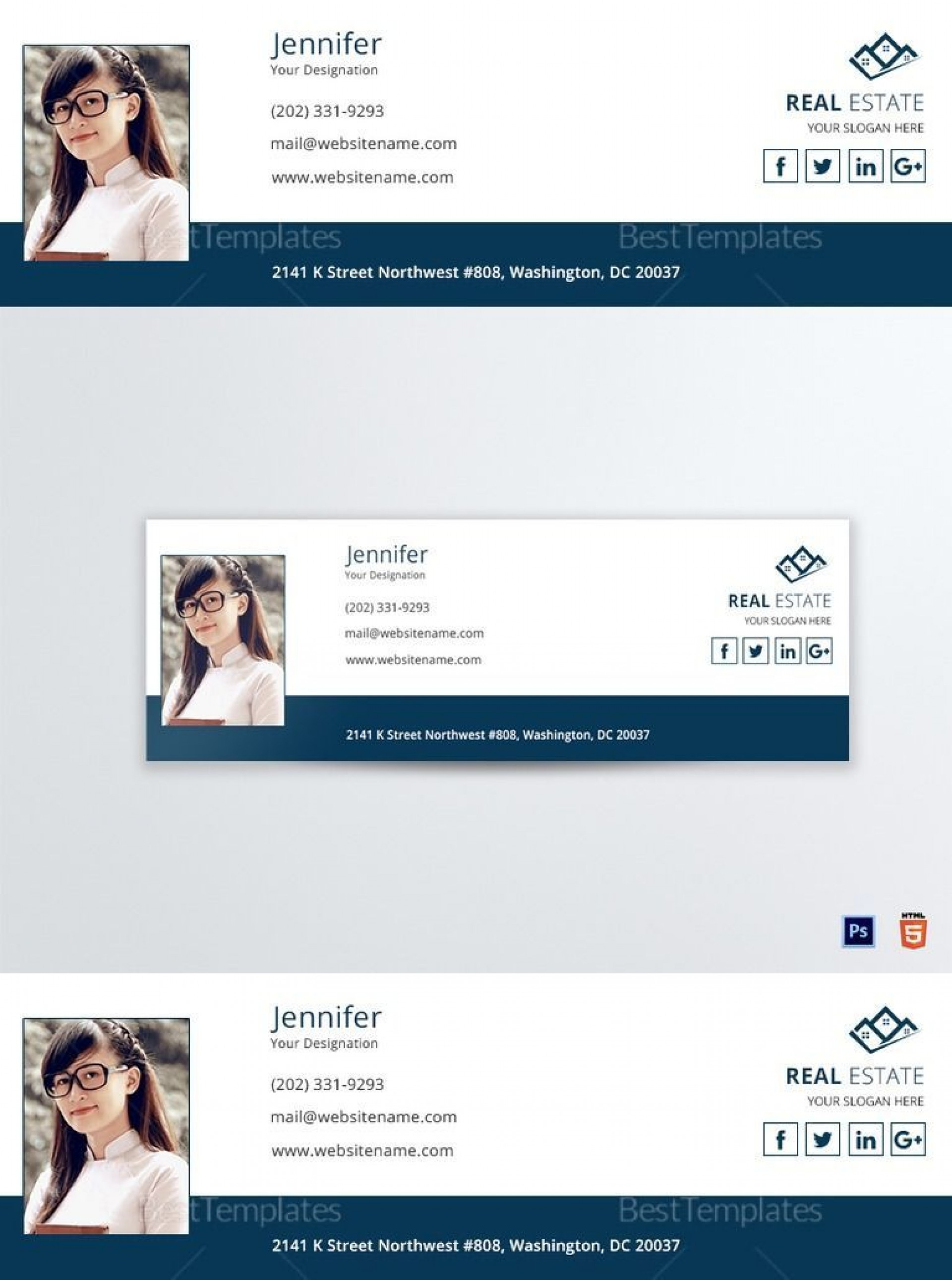 001 Wondrou Outlook Email Signature Template Example Inspiration  Examples1920