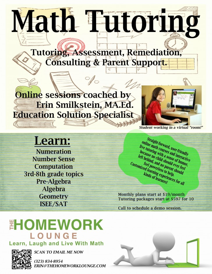 001 Wondrou Tutoring Flyer Template Free Photo  Word728