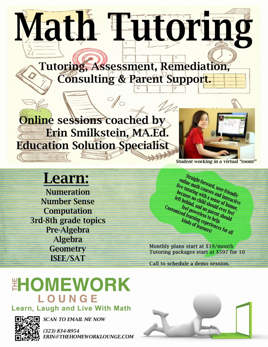 001 Wondrou Tutoring Flyer Template Free Photo  Word868