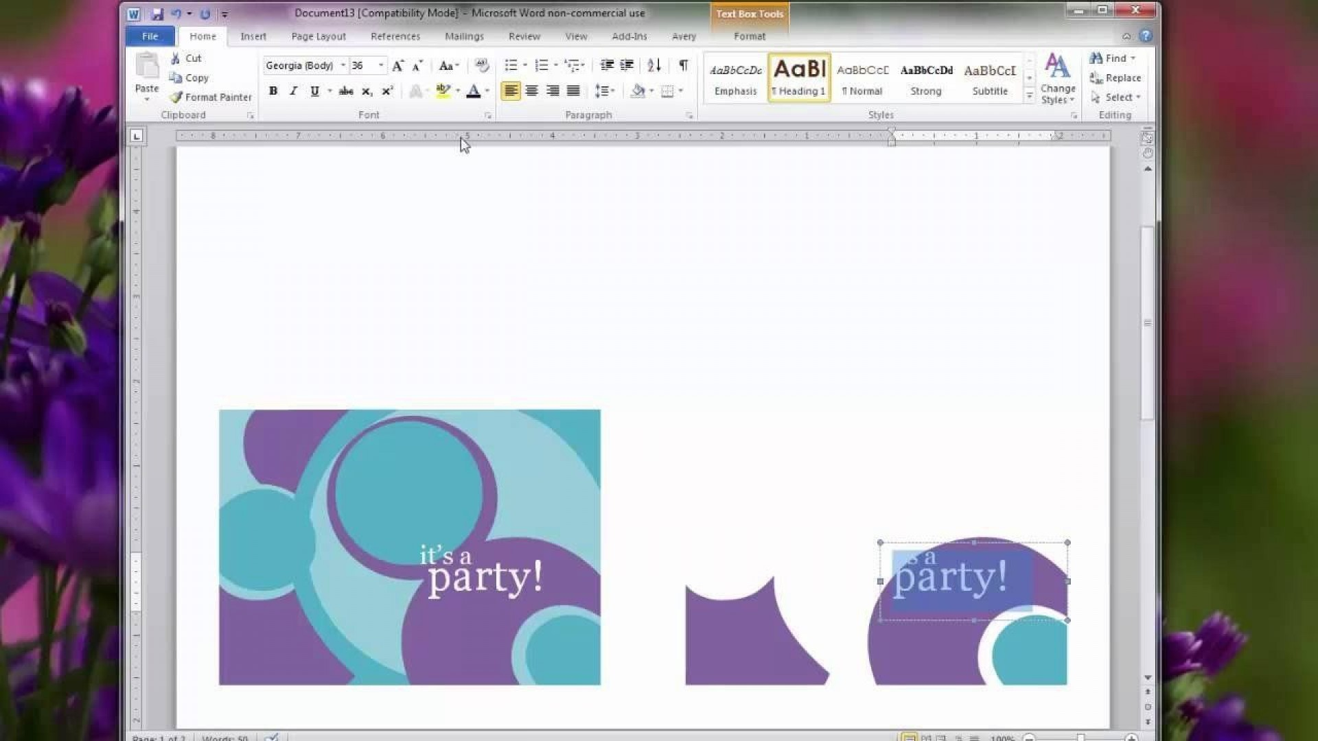 002 Amazing Birthday Card Template For Word 2010 Concept  Greeting Microsoft1920