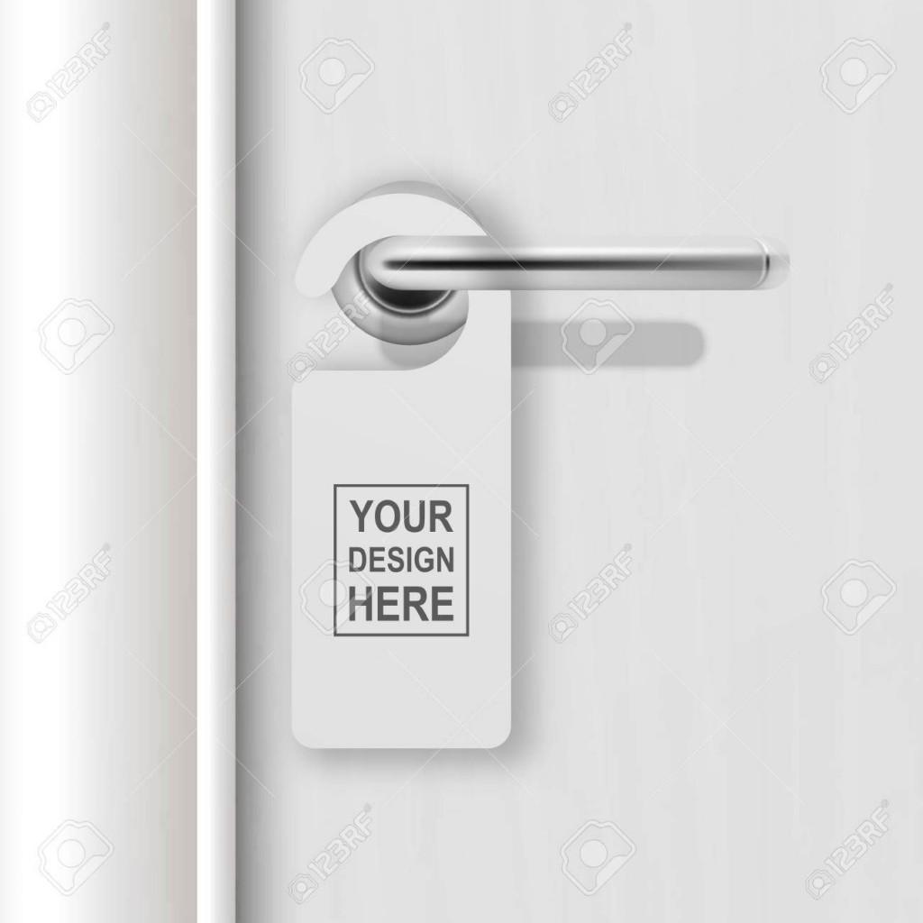 002 Amazing Blank Door Hanger Template High Definition  Free Printable Microsoft WordLarge