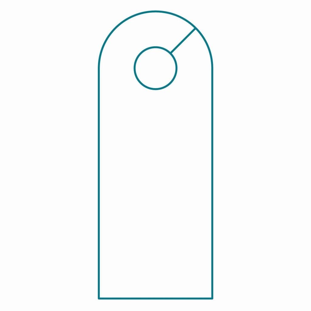 002 Amazing Door Hanger Template For Word Sample  Download Free Wedding MicrosoftLarge