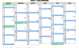002 Amazing Excel Calendar 2021 Template Highest Clarity  Yearly Microsoft