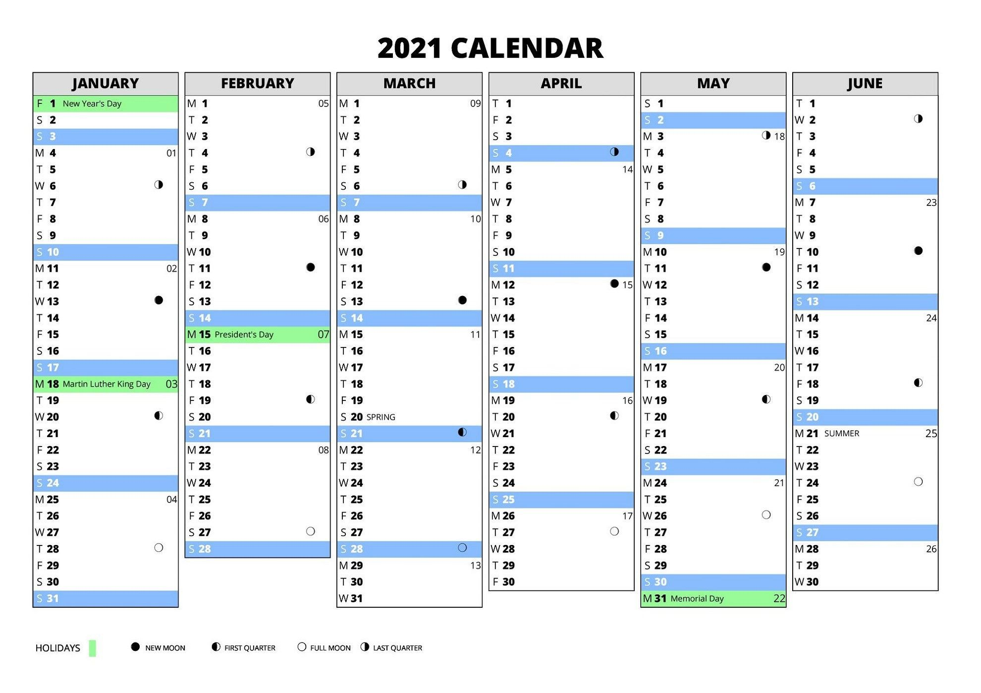002 Amazing Excel Calendar 2021 Template Highest Clarity  Yearly MicrosoftFull