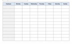 002 Amazing Free Employee Scheduling Template Idea  Templates Weekly Work Schedule Printable Lunch