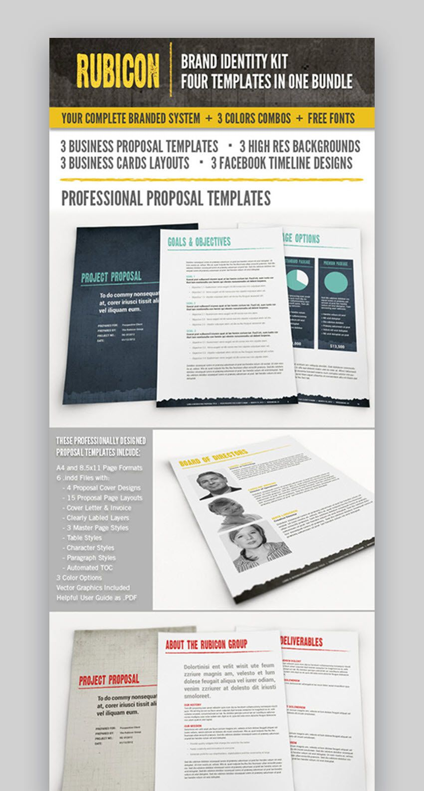 002 Amazing Graphic Design Proposal Template Doc Free Image Full
