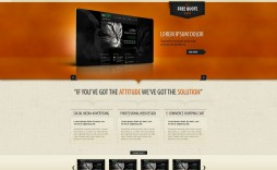 002 Amazing Iran Free One Page Psd Website Template Design