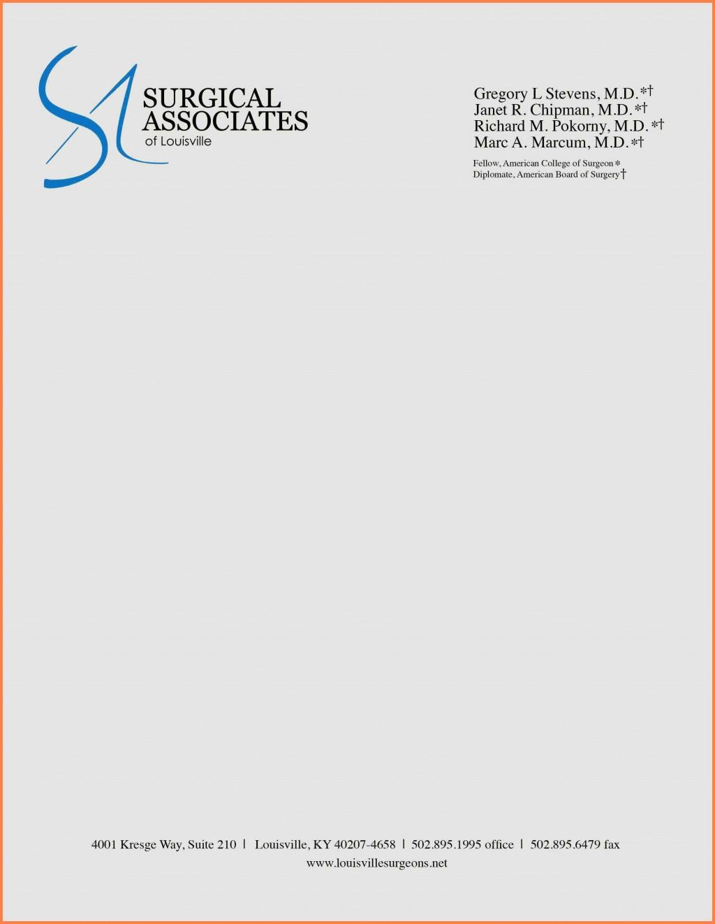 002 Amazing Letterhead Format In Word Free Download Pdf Idea Large