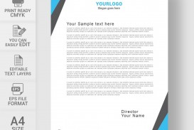 002 Amazing Letterhead Template Free Download Word Highest Clarity  Microsoft Format In Personal Red