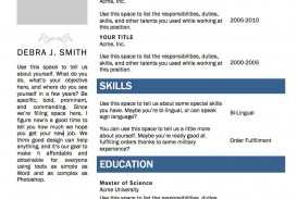 002 Amazing Make A Resume Template In Word Image  How To Create 2010 2013