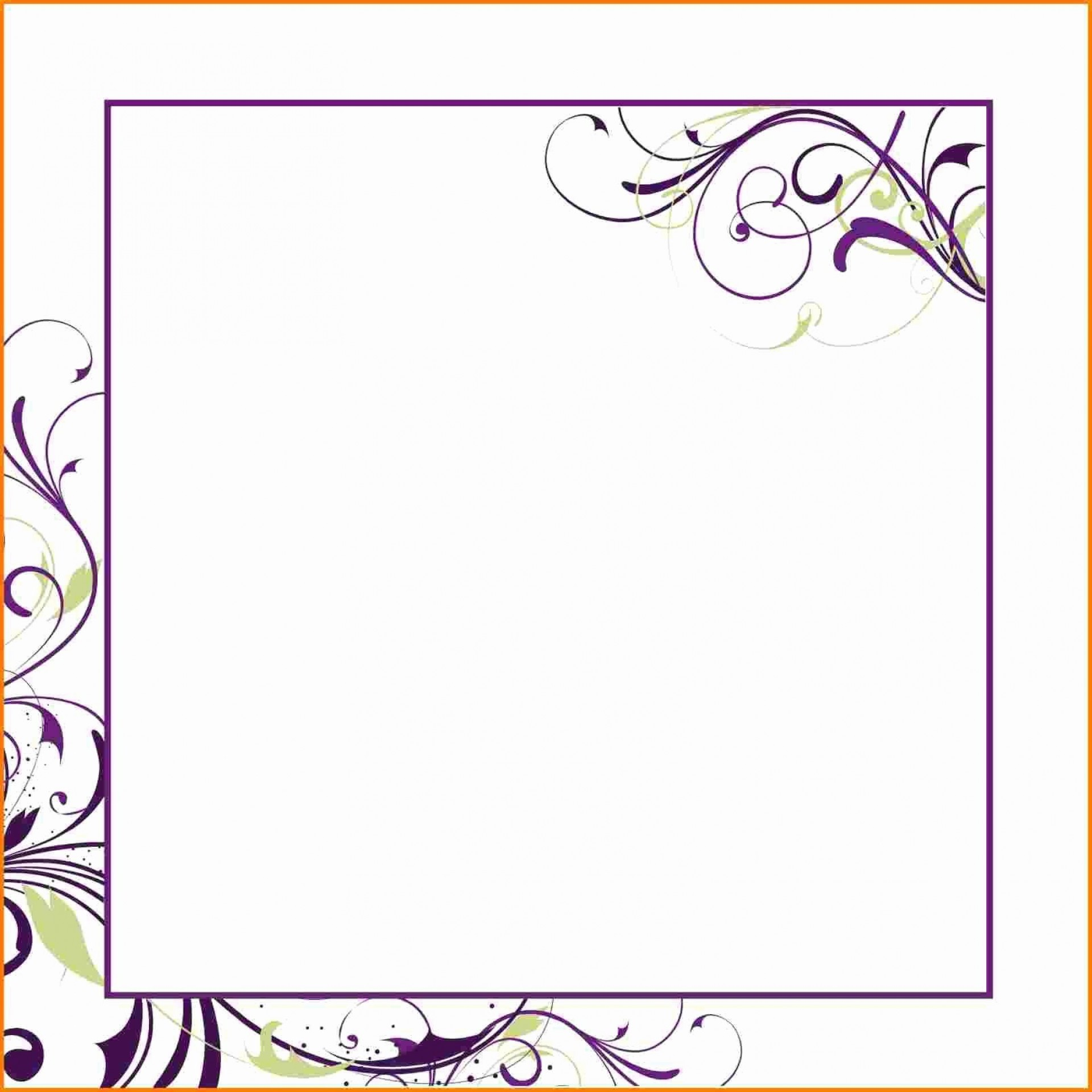 002 Amazing Microsoft Word Birthday Card Invitation Template High Definition 1920