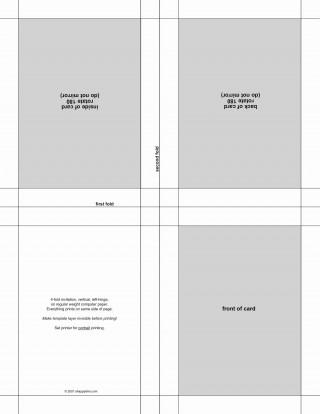 002 Amazing Microsoft Word Invitation Template 4 Per Page Example 320