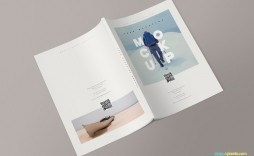 002 Amazing Photoshop Magazine Layout Template Free Download Concept