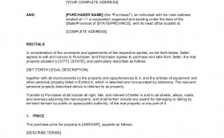 002 Amazing Purchase Sale Agreement Template Sample  Uk & Nz Free Busines And
