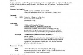 002 Amazing Rn Graduate Resume Template Idea  New Grad Nurse