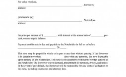 002 Amazing Simple Promissory Note Template High Resolution  Form Sample Format Of In India