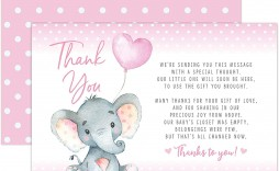 002 Amazing Thank You Card Wording Baby Shower Example  Note For Money Someone Who Didn't Attend Hostes