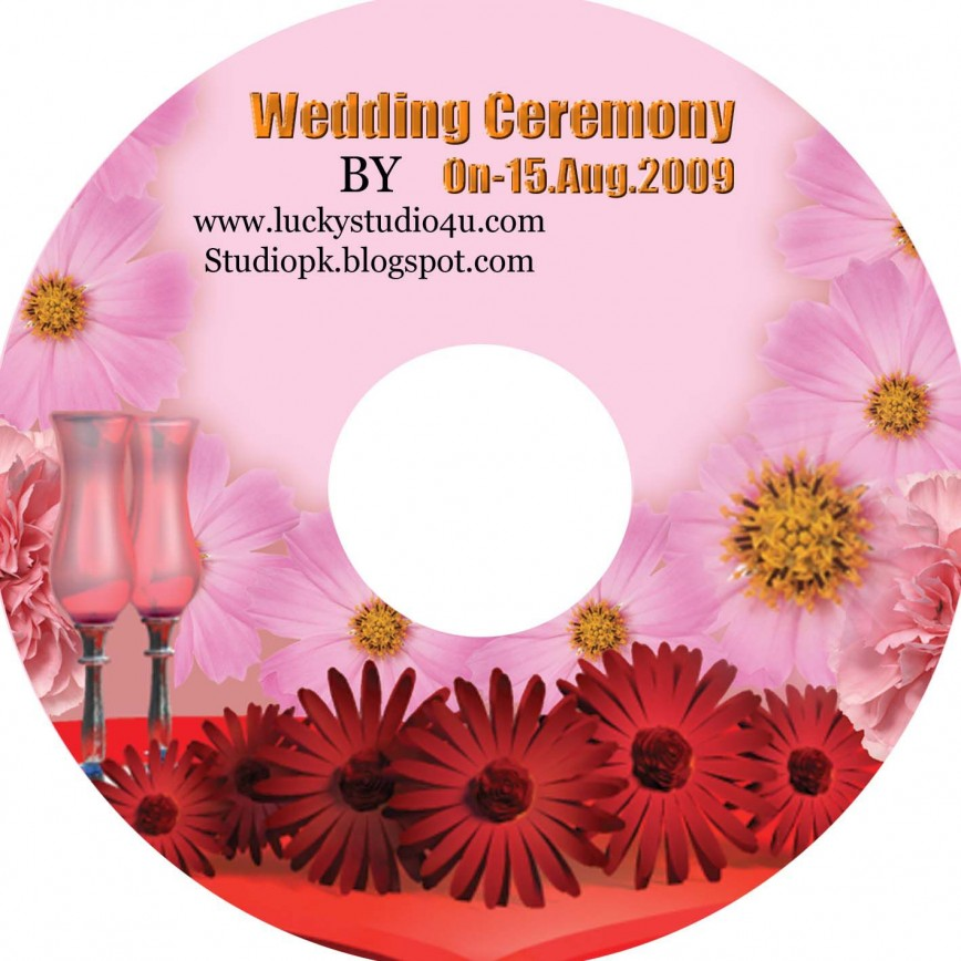 002 Amazing Wedding Cd Cover Design Template Free Download High Resolution 868