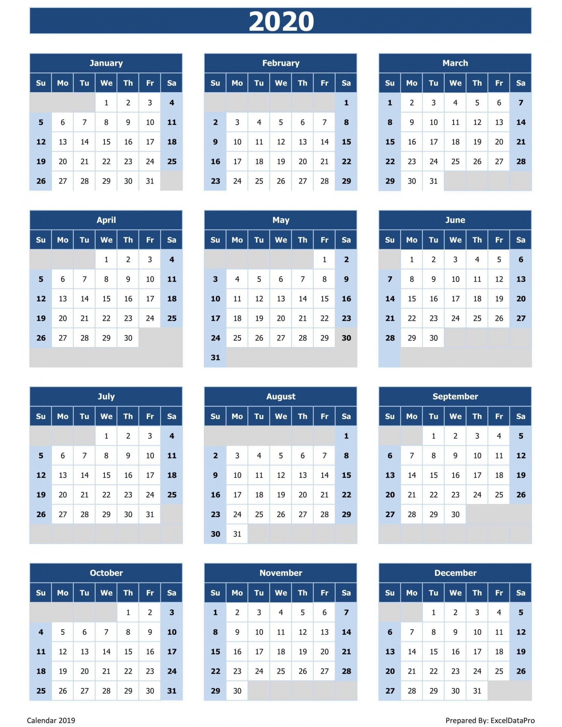 002 Archaicawful 2020 Calendar Template Excel Concept  Microsoft Editable In Format Free Download1920