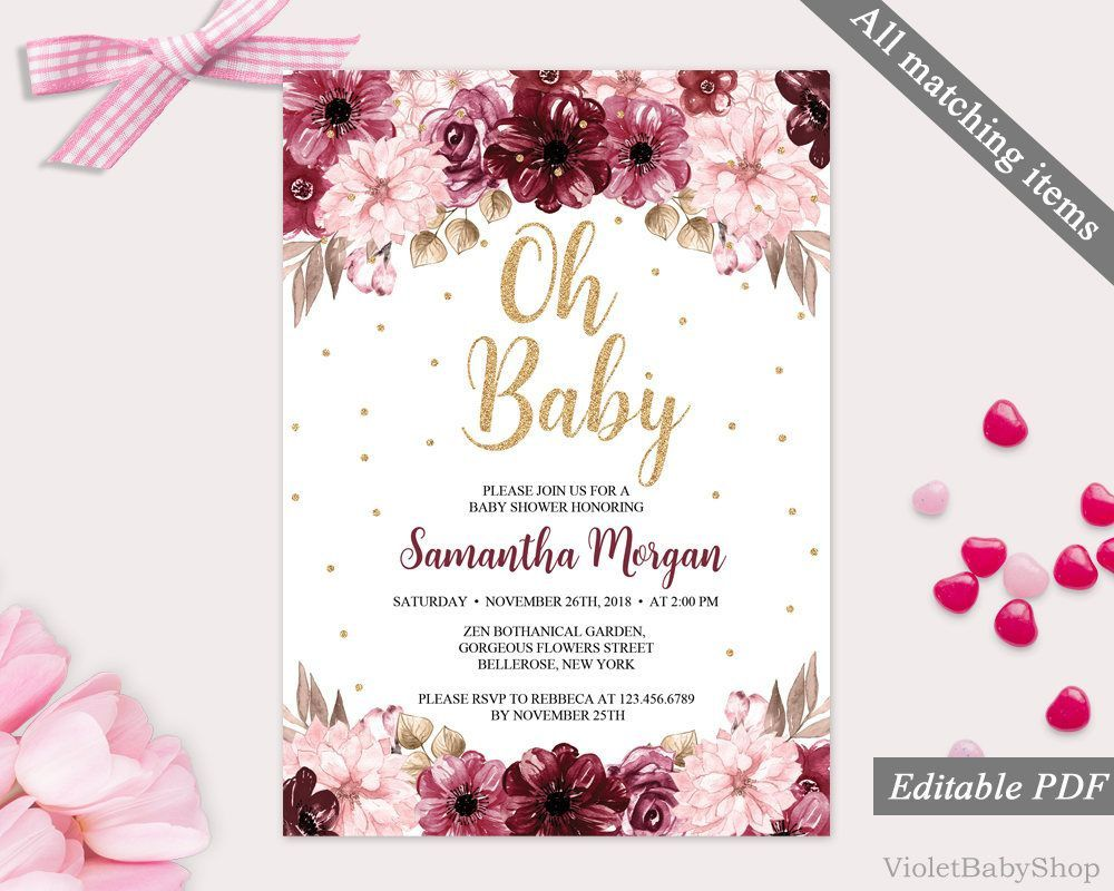 002 Archaicawful Baby Shower Invitation Template Editable Inspiration  Free Surprise In Gujarati TwinFull