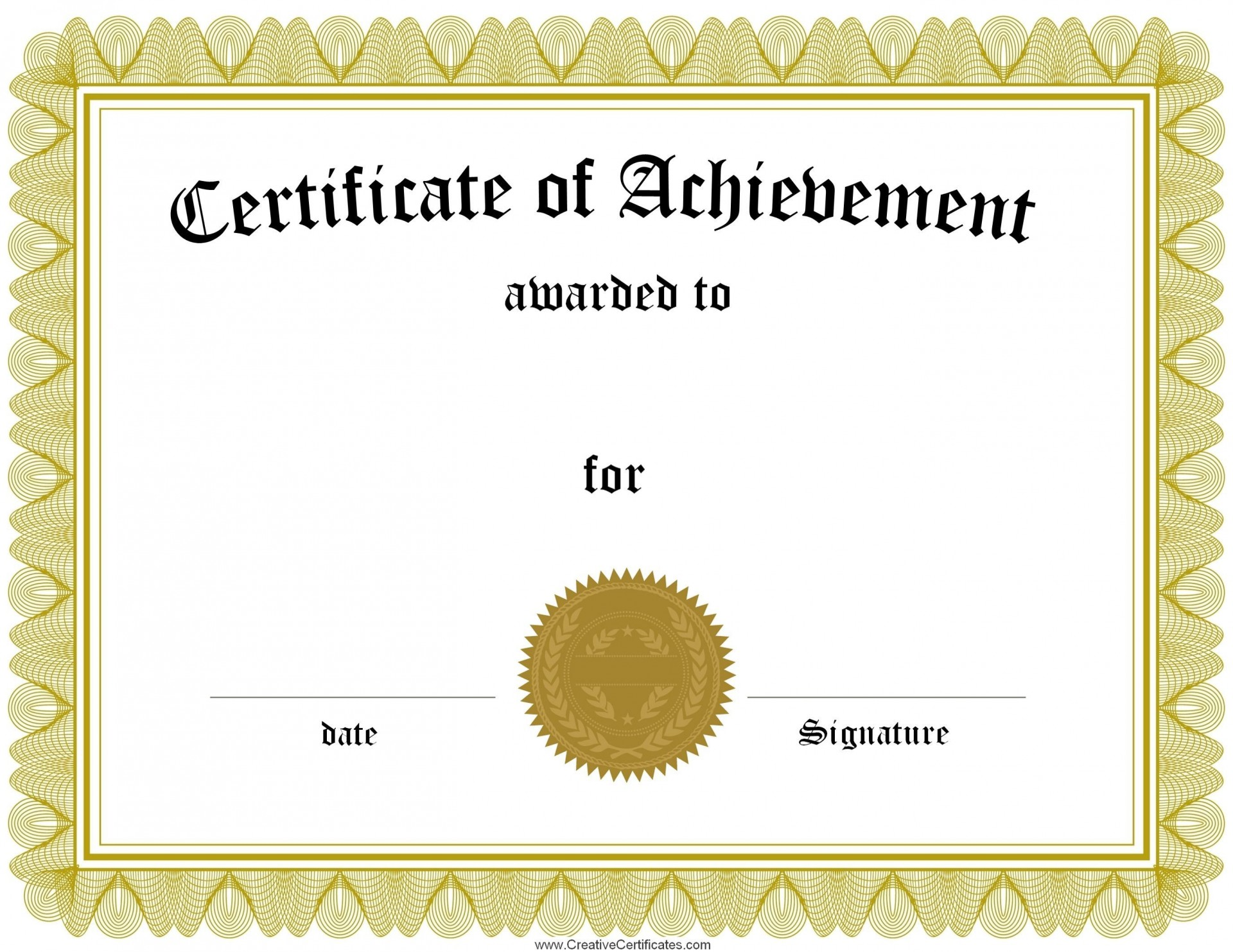 002 Archaicawful Blank Award Certificate Template High Def  Printable Math Editable Free1920