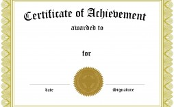 002 Archaicawful Blank Award Certificate Template High Def  Printable Math Editable Free