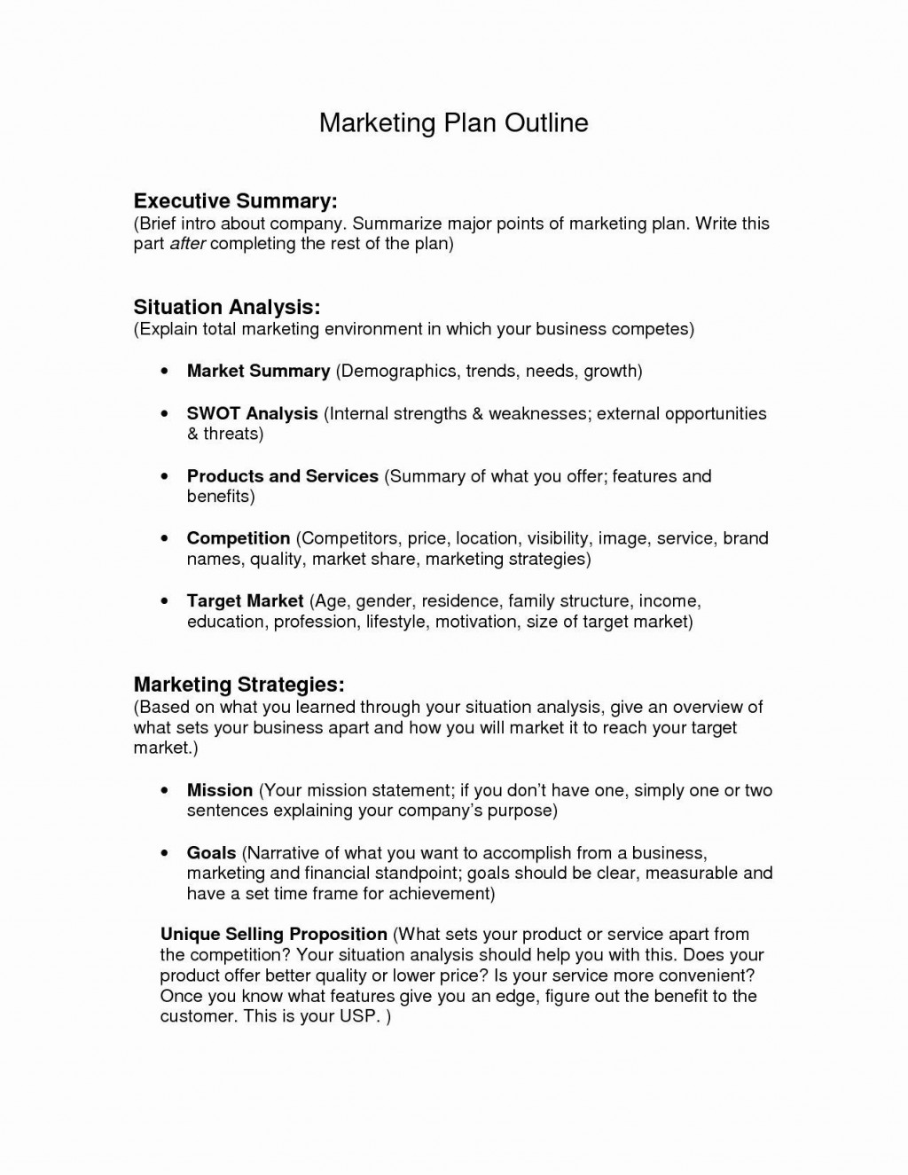 002 Archaicawful Busines Plan Executive Summary Template Word Picture Large