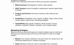 002 Archaicawful Busines Plan Executive Summary Template Word Picture