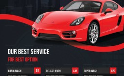 002 Archaicawful Car Wash Flyer Template Example  Free Fundraiser Download