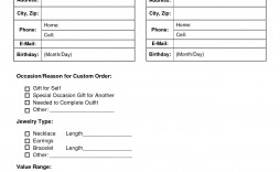 002 Archaicawful Custom Order Form Template High Def  Cake Clothing Work