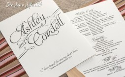 002 Archaicawful Free Printable Wedding Program Paddle Fan Template High Resolution  Templates