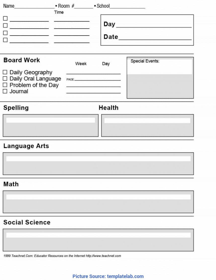 002 Archaicawful Free Unit Lesson Plan Template Idea