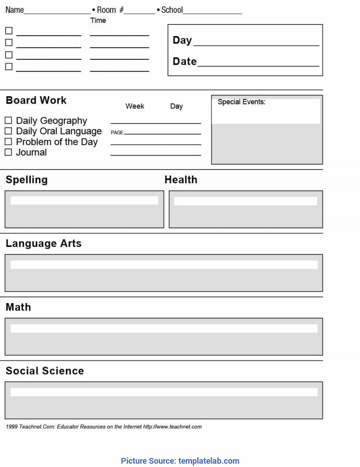 002 Archaicawful Free Unit Lesson Plan Template Idea Full