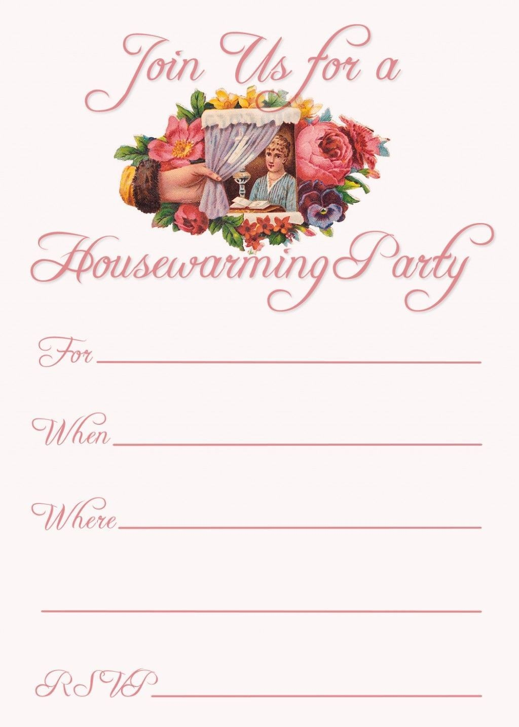 002 Archaicawful Housewarming Party Invite Template Inspiration  Templates Invitation Maker EditableLarge