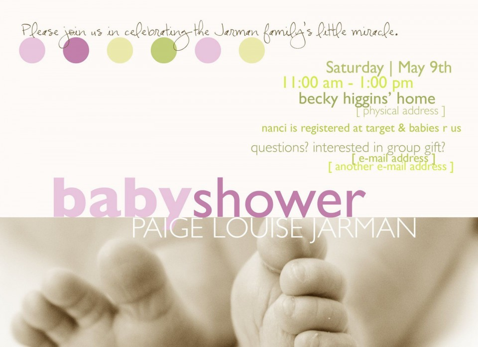 002 Archaicawful Microsoft Word Invitation Template Baby Shower Highest Quality  M Invite Free960